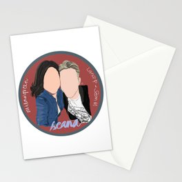 Sean Maguire and Lana Parrilla (Once Upon A Time) Stationery Cards