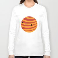 mars Long Sleeve T-shirts featuring Mars by Sarah Crosby