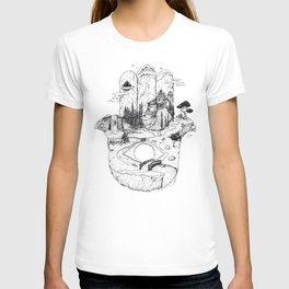 Hamsa in Nature T-shirt