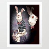 Awkward Easter Art Print
