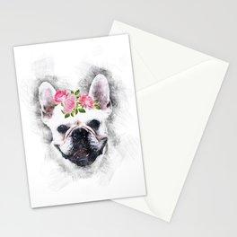 Frenchie Bulldog Stationery Cards