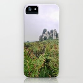 Megalith from the earth of Sicily iPhone Case