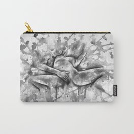 Colorful Climax black&white - Erotic Art Illustration Nude Sex Sexual Love Relationship Mature Carry-All Pouch