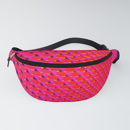 Eye Play in Hot Pink Fanny Pack