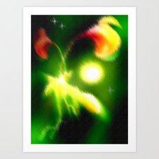 Bella Flora. Art Print