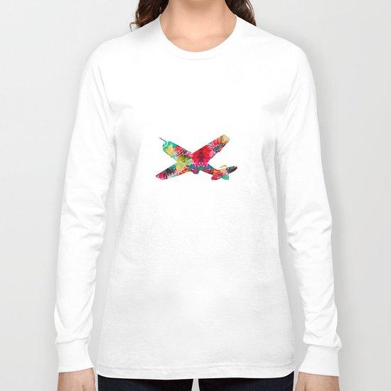 avion fleur 5 Long Sleeve T-shirt