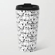 Oh Pugs Metal Travel Mug