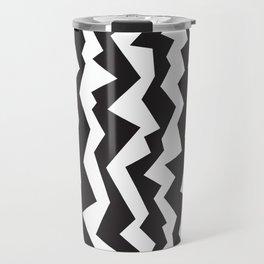 80s Zigzag Travel Mug