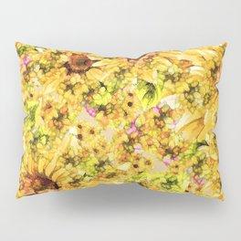Sun Flower Mosaic Pillow Sham