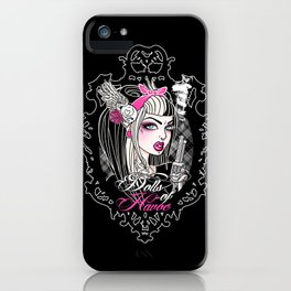 Dolls of Havoc Framed  iPhone Case
