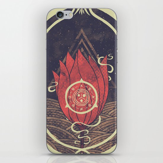 Pulsatilla Patens iPhone & iPod Skin