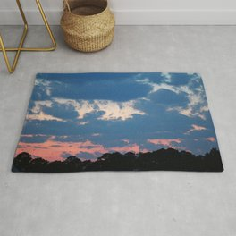 Bold And Colorful Clouds Rug