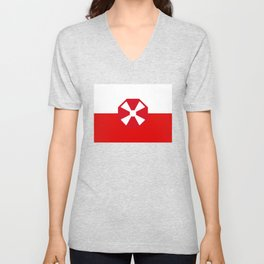 Flag of the Eighth Army Unisex V-Neck