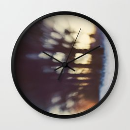 Inky Blues Wall Clock
