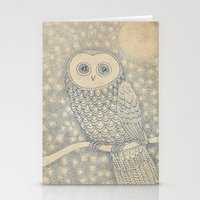 starry night Stationery Cards featuring Starry Night by Eric Fan