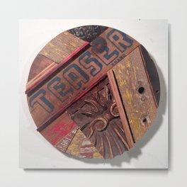 """TEASER""  Metal Print"