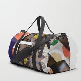 Abstract Food Wallpaper Duffle Bag