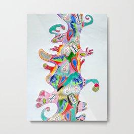 Riot of Color Metal Print
