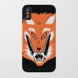 Cursed Fox iPhone Case
