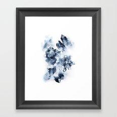 Smokey Crystals Framed Art Print