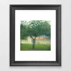 Rainy Tree Framed Art Print