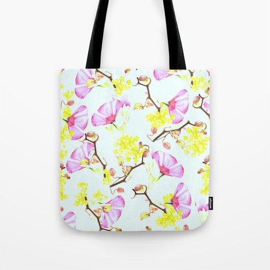 Spring flowers (floral) Tote Bag