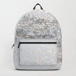 Silver Gray Glitter #3 #shiny #decor #art #society6 Backpack