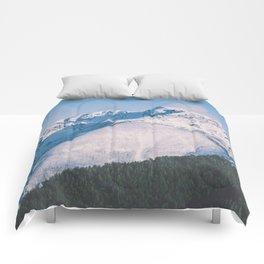 Snow Capped Peaks Comforters
