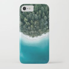 Green and Blue Symmetry - Landscape Photography Slim Case iPhone 7