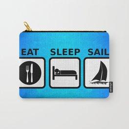 Eat Sleep Sail Carry-All Pouch