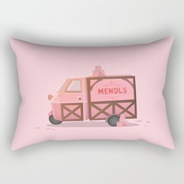 Mendl's Van Rectangular Pillow