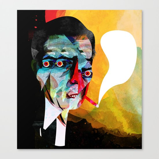 smoker2 Canvas Print