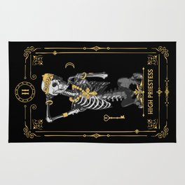 High Priestess II Tarot Card Rug