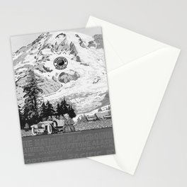retro old The Nations Playground poster Stationery Cards