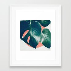 MONSTERA #1 Framed Art Print
