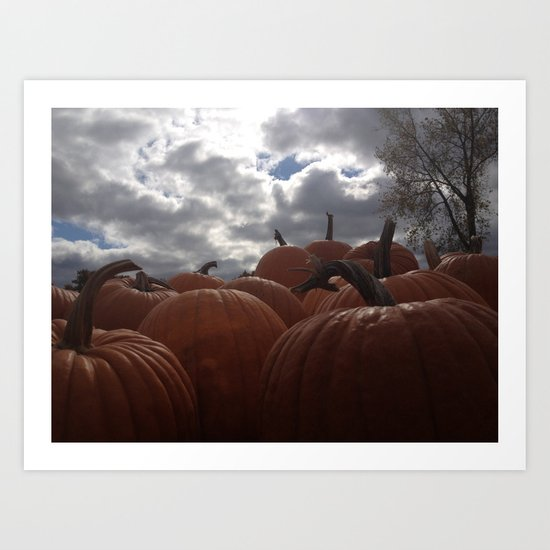 Haunting Season Art Print