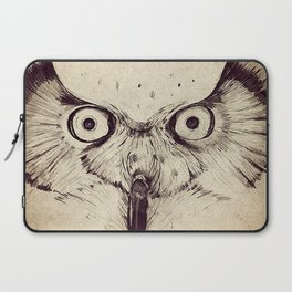 Deconstructed Owl Face Laptop Sleeve
