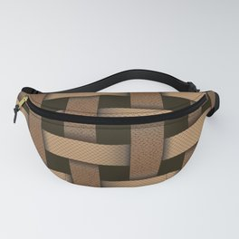 wicker seamless pattern Fanny Pack