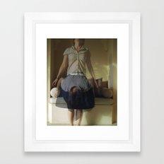 The Bow Framed Art Print
