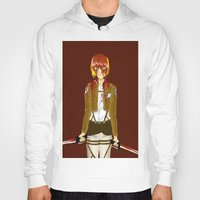 snk Hoodies featuring Bloody Armin by Paula Urruti