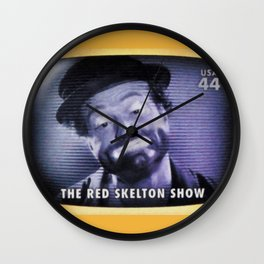 The Red Skelton Show Wall Clock