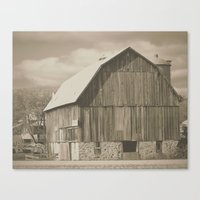 rustic Canvas Prints featuring RUSTIC  by A.K.H.