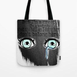 Teary Eyed Tote Bag