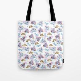 Watercolor Midnight Magic Princess Tote Bag