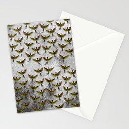 Phoenix Pattern Stationery Cards