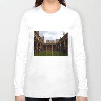 england Long Sleeve T-shirts featuring Bath, England by Samantha Brockbank