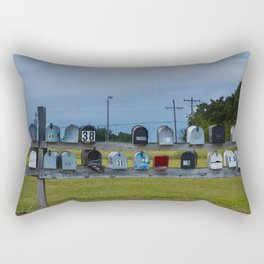 Mail Time Rectangular Pillow