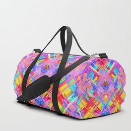 Colorful digital art splashing G470 Duffle Bag