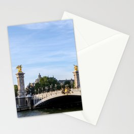 Pont Alexandre III in Paris Stationery Cards