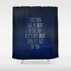 The Fault In Our Stars Shower Curtain
